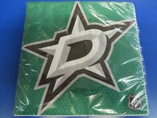 Dallas Stars NHL Pro Hockey Sports Banquet Party Green Paper Luncheon Napkins
