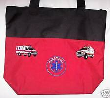 Personalized Medical Paramedic Tote Bag Purse Custom Embroidered