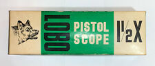 Vintage Thompson Center Arms Lobo Pistol Scope Box