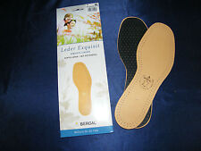 Bergal Leather Leather Exquisite Ladies Insole Sz. 38 New Plant Tanned