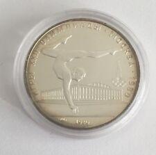 Silber Münze Turnerin 5 Rubel Olympiade 1980 Moskau Moscow Olympia