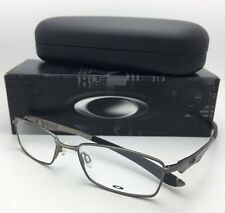 New OAKLEY Eyeglasses WINGSPAN OX5040-0253 53-17 138 Brushed Chrome Frames