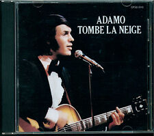 ADAMO-TOMBE LA NEIGE CD Japon cp32-5115 Black Triangle