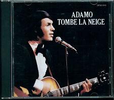 Adamo - Tombe La Neige CD Japan CP32-5115 black triangle