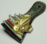 insigne de la  2°REG / Légion étrangère / verte et rouge inversé / N° : 148