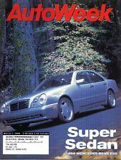 AutoWeek Magazine March 1, 1999 Mercedes-Benz E55, Mercury Cougar, Honda Accord