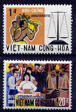 VIETNAM, SOUTH Sc#349-50 1969 Constitutional Democracy MNH