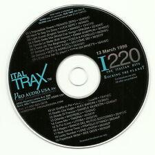 RARO CD PROMO USA Renato Zero LITFIBA (1998)