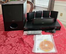 Bundle Sony DVD 5.1Ch Home Theater System DAV-DZ170 SS-WS102 subwoofer speakers
