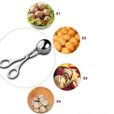 "Mini Meat/Melon Baller 1.25"" Stainless Steel Cookie Dough Meatball Scoop"