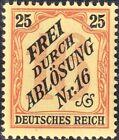 DR, Germania, Dienstmarken, D 14, postfrisch, Fotobefund Jäschke-Lantelme BPP