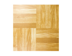 Wood Square Parquet Effect Self Adhesive Vinyl Flooring Tiles