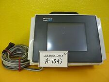 Pro-Face GP37W2-BG41-24V Graphic Panel Touch Screen QPM3D200B2P Fibox Case Used