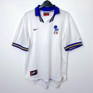 Original Italy Italia Euro 96 1996/1997 Away Football Shirt Maglia Calcio NIKE M