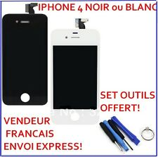 SCREEN SCREEN IPHONE 4 BLACK LCD RETINA FRAMED TACTILE GLASS TOOLS