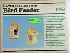 Vintage Bird Feeder No. 7102 The Black Forest by Greenleaf Build It Yourself Kit