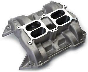 Engine Intake Manifold Chrysler CH 28 Dual Quad Edelbrock 5440