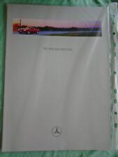 Mercedes SLK brochure Aug 1996 full brochure