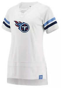 Fanatics Women's Tennessee Titans White Out Draft Me Football Jersey Small S NFL