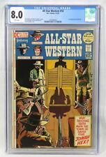 DC Comics All-Star Western #10 CGC 8.0 WP 1st Jonah Hex Tony DeZuniga Cover 1972