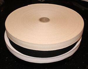 Cotton Webbing Herringbone Apron Bunting Sewing Tape - various widths & lengths