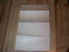 Handwritten Constitution Of Evangelical Reformed Church Shoemakersville PA 1853