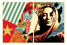 Welcome Visitor Artist Proof Print Set by Shepard Fairey Signed & Numbered Obey