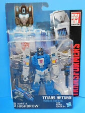 Transformers Titans Return Xort and Highbrow Figure  New !