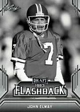 """JOHN ELWAY 2019 LEAF DRAFT """"1983 FLASHBACK"""" ROOKIE CARD! DENVER BRONCOS!"""