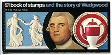 Gb 1972 MH 36 ** wedgewood markenheftchen 130 € (j0617