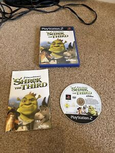 Shrek The Third PS2 Playstation 2 Complete