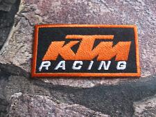 Aufnäher Patch Motorradcross KTM Race GT MX Tuning Racing Motorradsport Biker FX