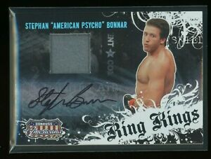 Stephan Bonnar Rookie Patch Auto Signed 2008 Donruss Americana Ring Kings MMA