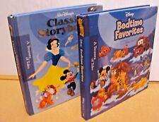 Lot 2 Storybook Walt Disney's Classic Storybook (2009) & Bedtime Favorites(2007)