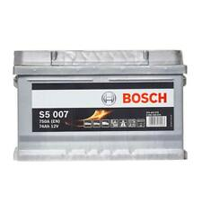 S5 100 Car Battery 5 Years Warranty 74Ah 750cca 12V Electrical - Bosch S5007