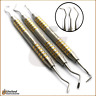 Periodontal Goldman Fox Knives Set Gingivectomy Tissue Graft Bone Reshaping File