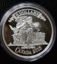 Canadian Bank Notes Series: Vignette 2015 $5 Coin Fine Silver