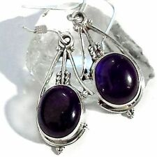 Amethyst Ohrhänger 4 Earrings 925 Silber UNIKAT Gothic EDEL Lila Lilac