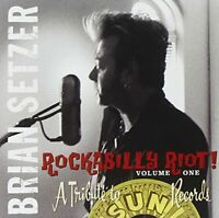 Brian Setzer - Rockabilly Riot  A Tribute to Sun Records [CD]