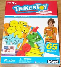 Tinker Toy 65 Piece Essentials Value Set Construction Building TinkerToy 56503