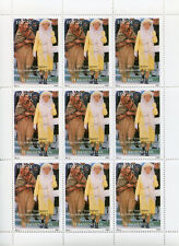 Turkmenistan 1997 MNH Independence Pakistan Queen Elizabeth II 9v M/S Stamps