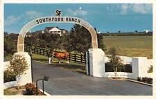PLANO TX 1983 Entrance to Southfork Ranch, Home of TV's JR Ewing VINTAGE 486