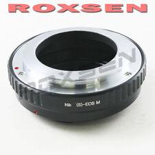 Roxsen Nikon S Microscope lens To Canon EOS M M2 EF-M mount Camera Adapter