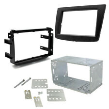 CT23AR12 Alfa Romeo Mito 2014-17 Double Din Stereo Fascia Adaptor Kit - Grey