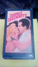 Double Indemnity (1944) Vhs Barbara Stanwyck Edward G. Robinson Fred MacMurray