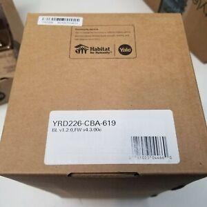 Yale YRD226-CBA-619 Touchscreen Smart Lock - Satin Nickel