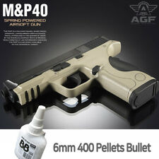 Academy M&P 40 Smith&Wesson Pistol Airsoft 6mm BB Shot Gun Military Kit# 17225T