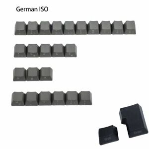 Dolch Gray Thick PBT Spain Italian German UK ISO Kit Key caps For MX Cherry
