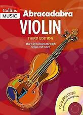 Abracadabra Violin Book 1 + 2 CDs - The way to Learn Through Songs and Tunes
