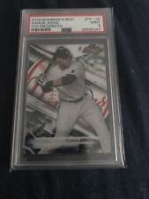 2016 Bowman's Best Top Prospects Aaron Judge #TP-28 PSA 9